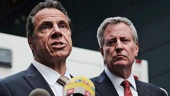 De Blasio camp hits back after Cuomo slams 'teetering' New York City