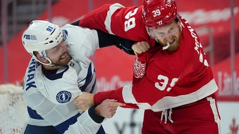 Coleman scores, lifts Lightning to 4-3 OT win over Red Wings