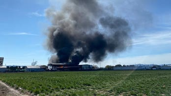 Oregon emergency crews, police responding to three-alarm fire at ethanol fuel facility