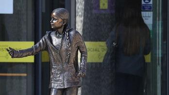 Greta Thunberg statue at UK university sparks backlash, labeled as 'vanity project'