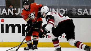 Henrique's power-play goal in OT leads Ducks past Coyotes