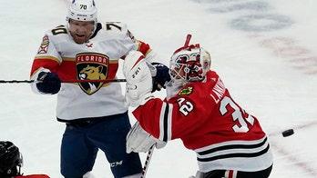 Lankinen, Blackhawks beat Panthers 3-0 for 2nd straight win