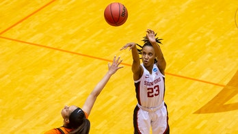 Jones and 3-pointers key No. 1 Stanford over Cowgirls 73-62
