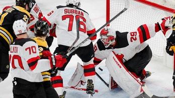 Blackwood makes 40 saves for 1st SO, Devils stop Bruins 1-0