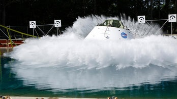NASA's Orion capsule begins new water drop tests