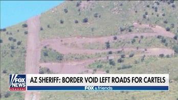Arizona sheriff says Biden halting border wall construction left area wide open for cartels