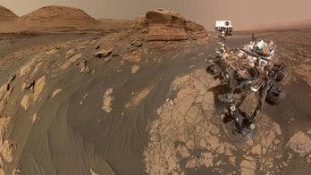 SEE IT: NASA's Curiosity rover takes Mars selfie