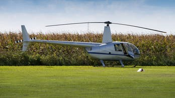 Helicopter pilot stops for lunch in UK while waiting in chopper, upsets Instagram
