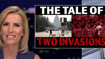 Tale of two invasions: Ingraham says Dems ignore real border crisis while hyping threats to Capitol