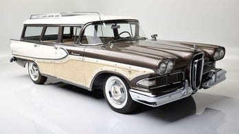 Edsel Ford II is selling his 1958 Edsel Bermuda station wagon