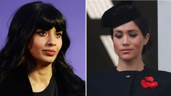 Meghan Markle defended by Jameela Jamil amid royal feud: 'The stench of their desperation is rotten'