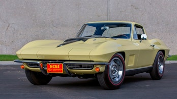 Rare 1967 Chevrolet Corvette sold for $2,695,000, but falls short of record