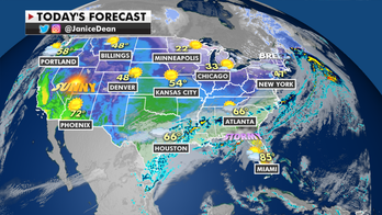 Eastern US faces flash flooding risk, warmer-than-average temperatures