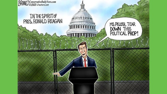 Political cartoon of the day: The Gipper speaks