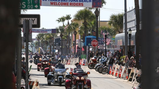 Daytona Beach prepares for tens of thousands of bikers to ride into town