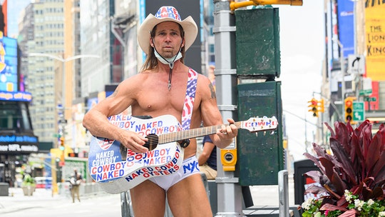 The Naked Cowboy arrested while performing at Bike Week