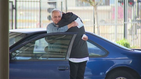 Man raises $27G for former teacher after learning 77-year-old became homeless during pandemic