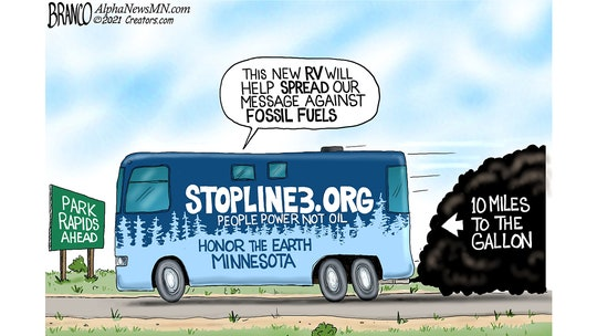 Political cartoon of the day: Road to hypocrisy