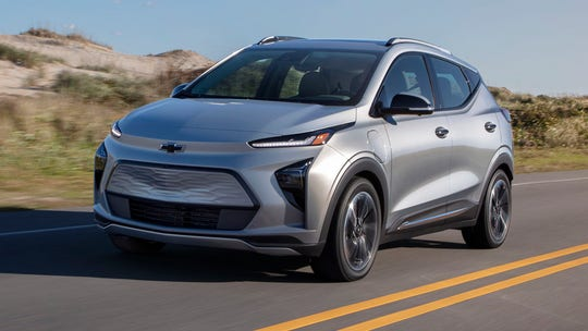 First test: The electric 2022 Chevrolet Bolt EUV is a hands-free SUV