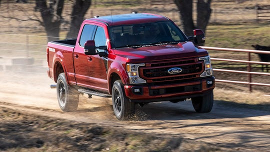 2022 Ford F-Series Super Duty updated with new tech and trim