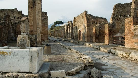 Ancient ceremonial chariot excavated in Pompeii: 'Extraordinary find'