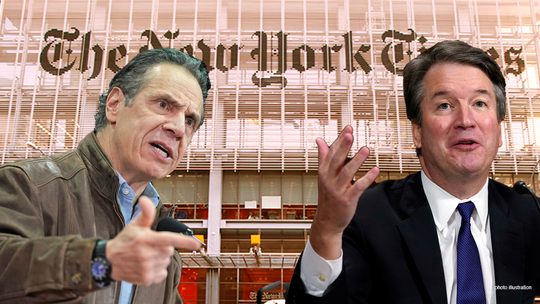 New York Times editorial board silent on Cuomo allegations after fixating on Kavanaugh claims