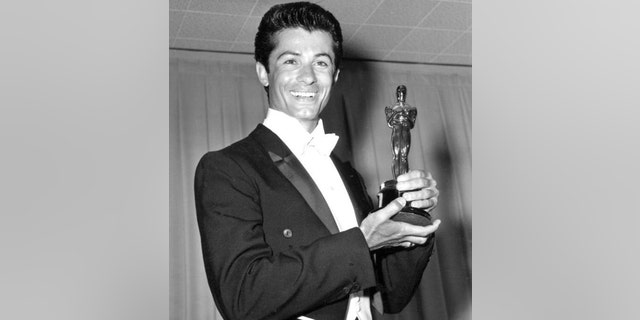 George Chakiris after his Oscar win.