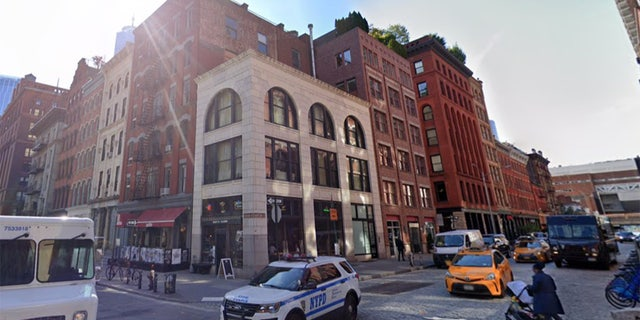 The owner of the building at 81 Hudson St. — where a 17-year-old boy drunkenly fell down a flight of stairs as cops broke up a 123-person party over the weekend — filed a Manhattan Supreme Court lawsuit Tuesday.