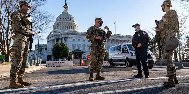 The mainstream media ran wild with claims pro-Trump extremists could breach the Capitol on Thursday, but hysteria by the press turned out to be much ado about nothing. (AP Photo/J. Scott Applewhite)