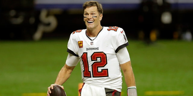 Tampa Bay Buccaneers quarterback Tom Brady leaves the field an NFL divisional round playoff football game against the New Orleans Saints in New Orleans, in this Sunday, Jan. 17, 2021, file photo. (AP Photo/Brett Duke, File)