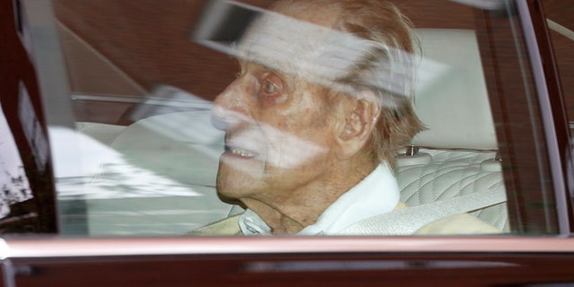 Prince Philip, the Duke of Edinburgh, discharged from King Edward VII hospital