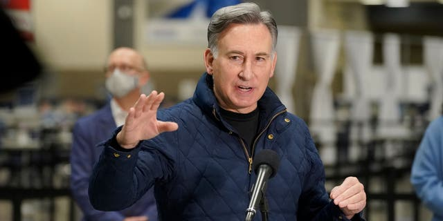 King County Executive Dow Constantine said that the coronavirus pandemic had led to particular hardship for the Asian American and Pacific Islander communities. (AP Photo/Ted S. Warren)