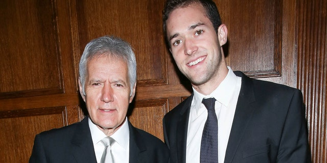 Alex Trebek's son, Matthew Trebek, is opening up about the prized possession he kept to remember the late 'Jeopardy!'host.<br> (Photo by Rob Kim/Getty Images)