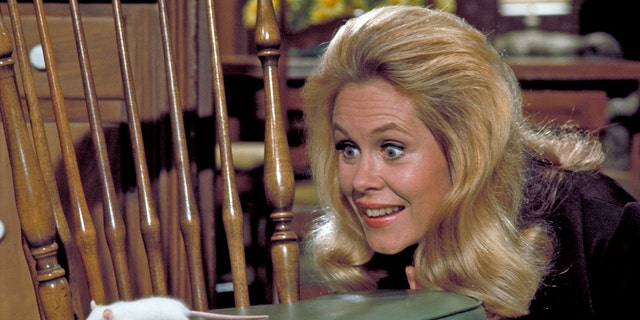 Elizabeth Montgomery in 'Bewitched.' (Getty Images)