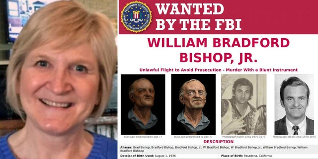 Kathy Gillcrist and FBI wanted posted for William Bradford Bishop, Jr.