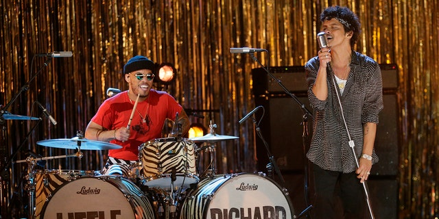 The pair also performed a tribute to the late Little Richard. (Photo by Francis Specker/CBS via Getty Images)