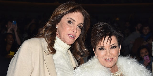 Caitlyn Jenner, left, and Kris Jenner have spoken out about Kim Kardashian's split from Kanye West. (Getty Images)