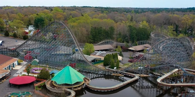 Clementon Amusement Park & Splash World in Clementon, New Jersey, will be auctioned off on Tuesday.