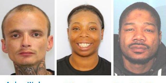 Cincinnati police has identified the triple-homicide victims.