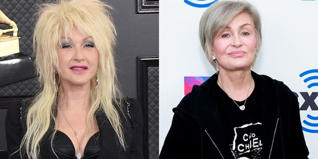 Singer Cyndi Lauper came to the defense of her friend Sharon Osbourne following remarks made by 'The Talk' co-host.
