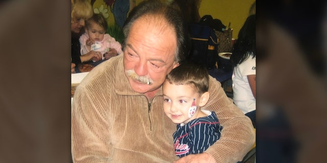 Samuel Arbeeny with his grandson, Anthony. (Danielle Messina)