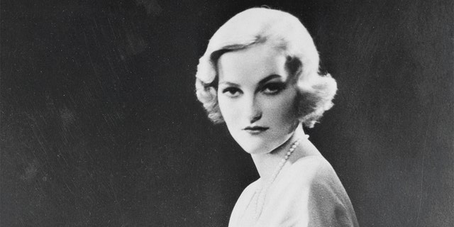 American Heiress Doris Duke, daughter of James Buchanan Duke and wife of prominent New York businessman James H.R. Cromwell.