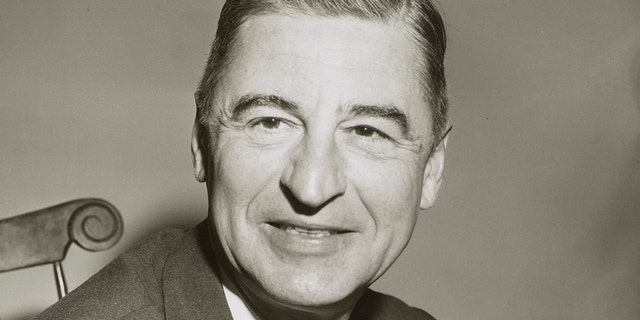 Portrait of author and illustrator Theodor Geisel (1904 - 1991), better known as Dr Seuss, New York, New York, April 4, 1957.