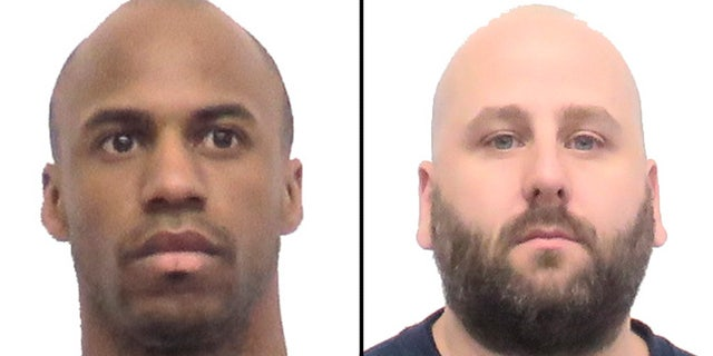 28-year-old Michael Dutcher (left) and 39-year-old Thomas Woodard (right) have been charged with first-degree murder after they allegedly killed two staff members at an Iowa prison during an attempted escape.