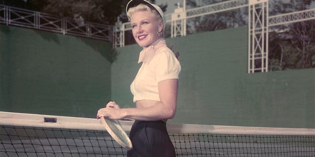 Roberta Olden said Ginger Rogers loved playing tennis in her later years.