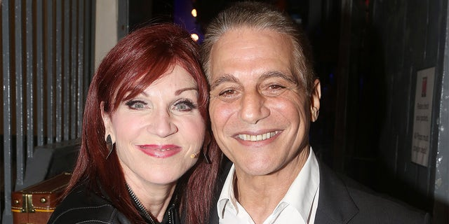 Marilu Henner and Tony Danza at The Belasco Theatre on September 9, 2018, in New York City.