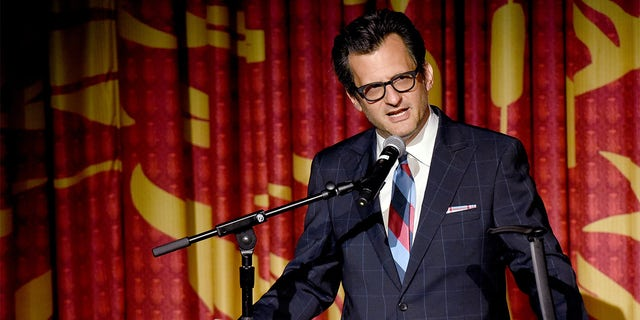 TCM Primetime Host Ben Mankiewicz speaks onstage at the screening of 'Gone with the Wind' at the 2019 TCM 10th Annual Classic Film Festival on April 14, 2019, in Hollywood, California.