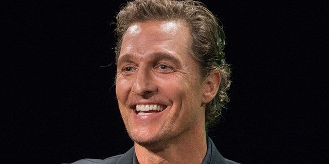 Matthew McConaughey shares his dad's advice on pursuit of acting: Don't 'half-a-- it'.jpg
