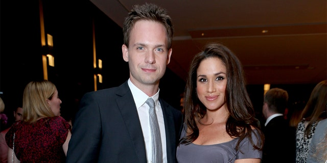 Megan Markle and Patrick J.  Adams starred in