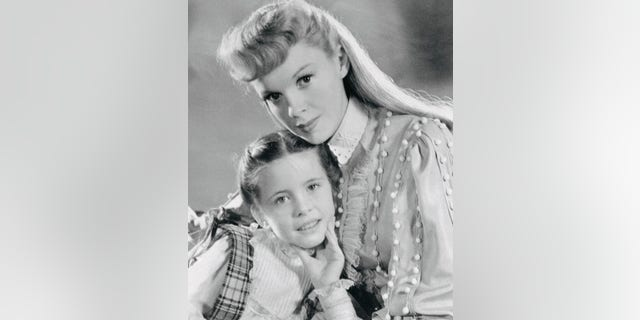 Margaret O'Brien (left) told Fox News she still has wonderful memories working with Judy Garland (right).